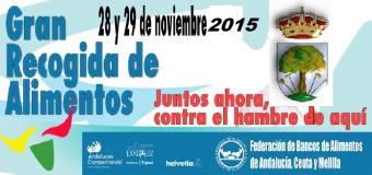 Huévar participa en la Gran Recogida de Alimentos que se celebra el viernes y sábado