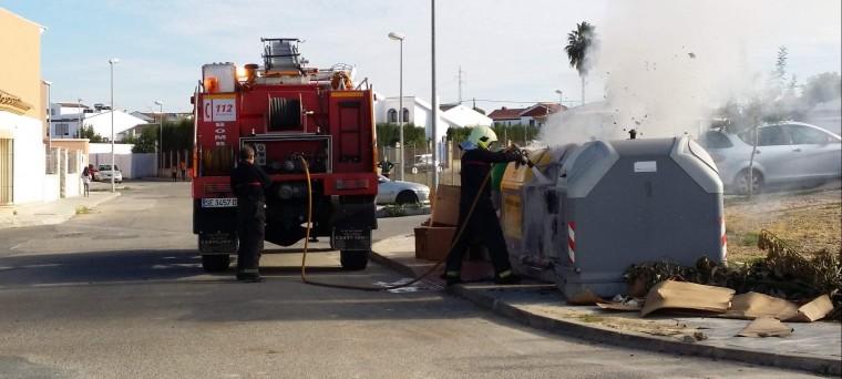 Actuación de los bomberos - Foto bejaroldan