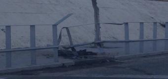 Accidente de tráfico en el casco urbano de Huévar del Aljarafe