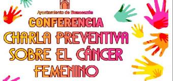 """Conferencia """"Charla Preventiva sobre el Cáncer Femenino en Benacazón"""