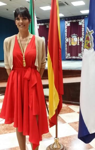 Áurea Maria Borrego alcaldesa de Huévar del Aljarafe