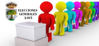 Resultado de las Elecciones Generales 2015 en Huévar del Aljarafe