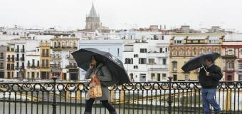Este fin de semana vuelve la lluvia a Sevilla