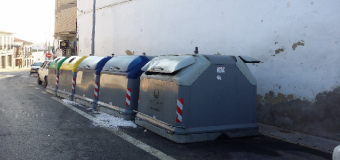 Incendiado y destruido otro contenedor de basura en Huévar del Aljarafe