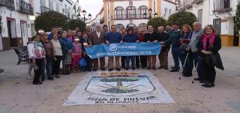 Juan Bueno mantiene un encuentro con simpatizantes y afiliados del PP de Huévar del Aljarafe