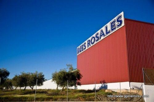 Fabrica de Ines Rosales en Huévar del Aljarafe