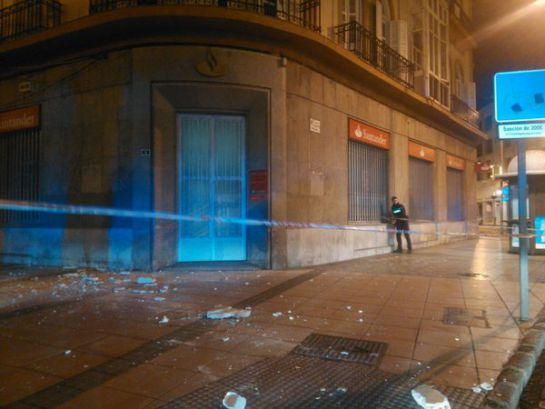 Desperfectos provocados por el terremoto en Melilla / TOÑY RAMOS