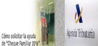 """Abierto el Plazo para solicitar la ayuda de 1.200 euros del """"Cheque familiar"""""""
