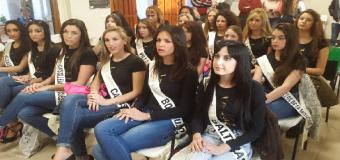 La aspirantes a Miss Grand Aljarafe visitaron el municipio de Huévar del Aljarafe.