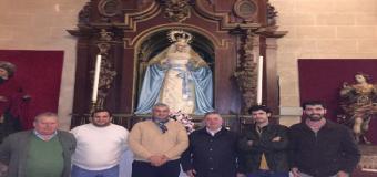 La Banda Municipal de Musica de Huévar para el palio de la Confortación de Jerez