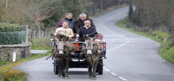 De Euskadi a El Rocío, en un carro tirado por mulas