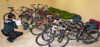 Detenidos los ladrones de bicicletas del Aljarafe