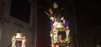 Un encapuchado ataca la imagen del Nazareno de Osuna