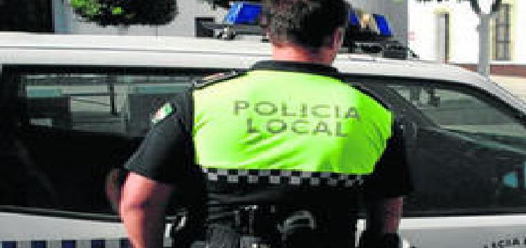 Un policía local, en una imagen reciente.