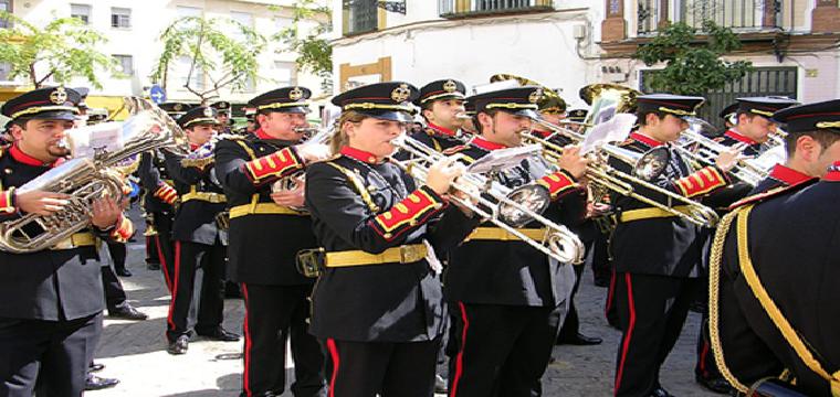 """Componentes de la Agrupación musical """"Nuestro Padre Jesús de la Redención"""" /WEB AGRUPACIÓN"""