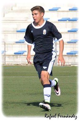 Alejandro Pozo (Sevilla CF. jugador seleccionado con la Selección Andaluza