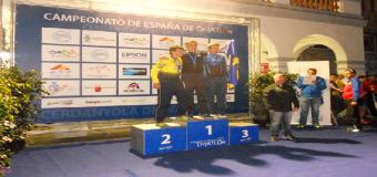 El pileño Eduardo Rodríguez, campeón de España de duatlón olímpico