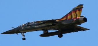 El caza francés 'tuneado' con la bandera de España que asombra a los militares