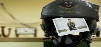 Capitán Torres, piloto de F-18: «Aún preguntan a mis compañeros de promoción si era tan buena»