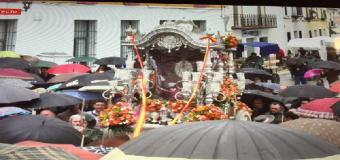 La Hermandad del Rocío de Huévar hace su presentación en Villamanrique