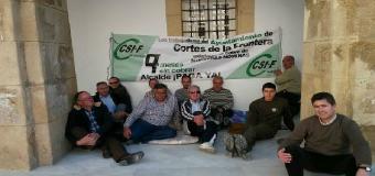 Los trabajadores del Ayuntamiento llevan un año sin cobrar sus nominas