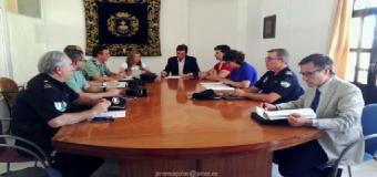 Sesión extraodinaria de la Junta Local de Seguridad del Ayuntamiento de Pilas
