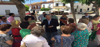 Arenas visita Castilleja de la Cuesta y Huevar del Aljarafe