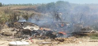 Llegan los primeros incendios a Huévar