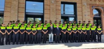 Cerca de 50 nuevos agentes se incorporan a los cuerpos de Policía Local de Andalucía