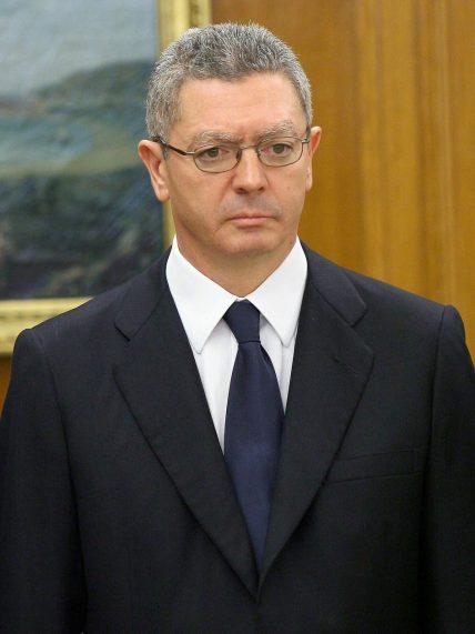El exministro de Justicia, Alberto Ruiz Gallardón, en una imagen de archivo. (GTRES)
