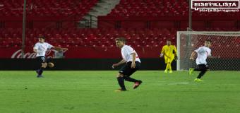 El Hervense Alejandro Pozo, el español más jóven en debutar en 2ª con el Sevilla Atlético