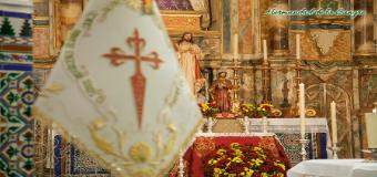 """La Hermandad de María Stma de la Sangre estrena """"Gallardete de Santiago"""""""