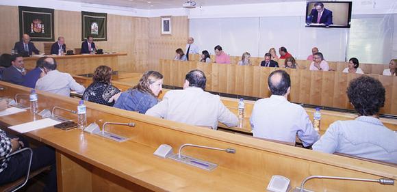 Pleno de Diputación de Sevilla