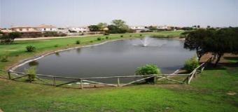 El campo de golf de Matalascañas cierra indefinidamente