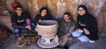 Una joven marroquí diseña un frigorífico que funciona sin electricidad