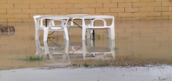 El temporal de lluvias también deja incidencias en Huévar del Aljarafe