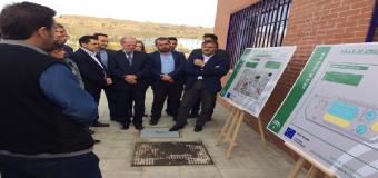 En funcionamiento y con servicio a 6.000 habitantes la depuradora de Aznalcóllar (Sevilla)