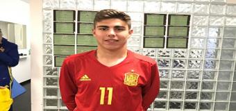 Alejandro Pozo fue titular en la victoria de España ante Italia