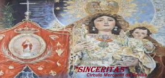 La Virgen de la Sangre de Huévar en el Circulo Mercantil de Sevilla