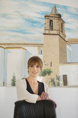 Alcaldesa de Huévar Áurea Mª Borrego Moreno