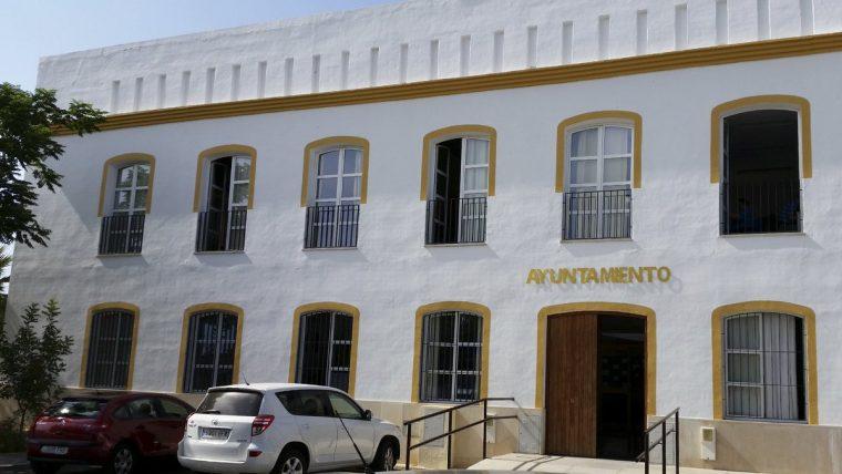 Fachada del Ayuntamiento de Huévar del Aljarafe