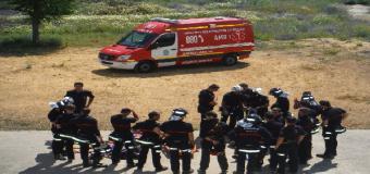 HUEVAR – Bomberos andaluces se forman en el uso seguro de vehículos con energías alternativas en un curso de la Junta