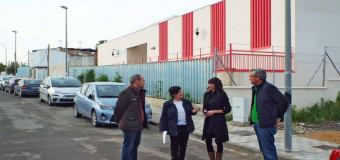 Visita a las distintas obras municipales con cargo a los Supera