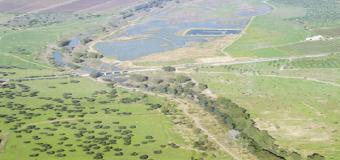 Mapa con 200 topónimos asociados al río Guadiamar