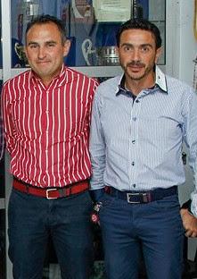 José Cascajo y Antonio Jesús Garrido