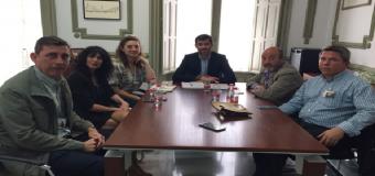 Diferentes alcaldes se unen para pedir que el tren de cercanías del Aljarafe pase por sus municipios