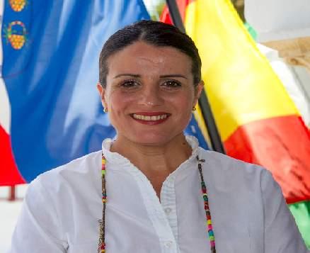 Rocio Espinosa, alcaldesa de Almonte - ABC