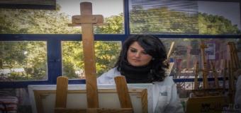 HUÉVAR – Nuria Barrera Bellido pintara el cartel de las Fiestas de Gloría 2017 de la Hdad de la Sangre