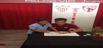Ángel Luis salas, otro Hervense que firma por el Sevilla FC