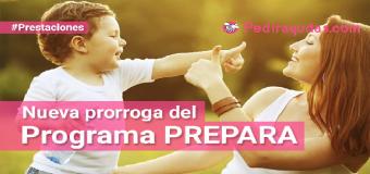 El PREPARA se prorroga hasta abril de 2018
